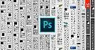 Adobe Photoshop, aniversário de 25 anos - Timeline de Barra de Ferramentas