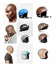 Design criativo para capacetes customizados por Jyo John Mulloor - Modelagem