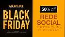 Black Friday 2016 na Zeroarts - 50% de desconto para Rede Social