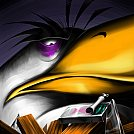 Mighty Eagle Angry Bird - by Scooterek
