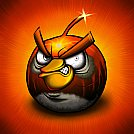 Black Angry Bird - by Scooterek
