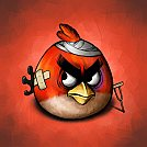 Red Angry Bird - by Scooterek
