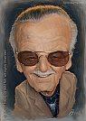 Ilustrador Stan Lee - por Nico Di Matia
