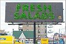 McDonalds - Outdoor de salada fresca