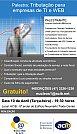 Divugação do evento: Palestra de tributação para empresa de TI e WEB com Leomir Minozzo