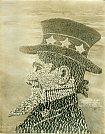 Retrato vivo do Tio San - Mole