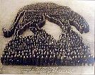 Photo Emblem Co. - A Pantera Formada pela Faculdade e estudantes da Universidade de Pittsburgh, 1920