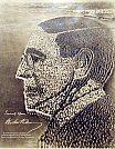 Retrato vivo de Woodrow Wilson - Mole