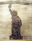 Estátua da Liberdade Humana - Mole