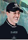 Michael Schumacher - Arte Final - Ilustração por Piotr Buczkowski