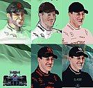 Michael Schumacher - Processo de criação - Ilustração por Piotr Buczkowski
