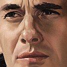 Ayrton Senna - Arte Final, detalhes - Ilustração por Piotr Buczkowski