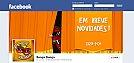 TimeLine da FanPage do Banga Dunga