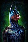 Batman vivido por Val Kilmer - Caricatura de Anthony Geoffroy