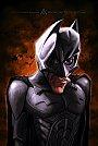 Batman vivido por Christian Bale - Caricatura de Anthony Geoffroy