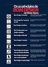 Ilustração de ícones dos Dez princípios do bom Design de Dieter Rams