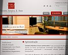 Desenvolvimento de Site para Tavares Pereira e Haas Advogados - Blumenau / SC [O Escritório]