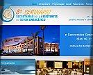 Desenvolvimento de Site para 8º Seminário Secretárias(os) e Assistentes do Setor Energético - Ribeirão Preto / SP [Capa do site]