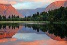 Lake Matheson - foto de Daniel Murray