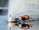 Water Skier Reflection - Autor desconhecido