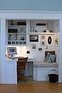 Soluções criativas para ganhar design e espaço em seus móveis - Pequeno Escritório