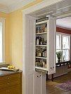 Soluções criativas para ganhar design e espaço em seus móveis - Gaveta na parede