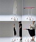 Soluções criativas para ganhar design e espaço em seus móveis - Espelho de passar