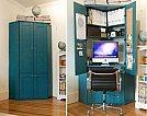 Soluções criativas para ganhar design e espaço em seus móveis - Armário Office