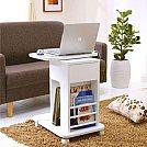 Soluções criativas para ganhar design e espaço em seus móveis - Criado mudo móvel