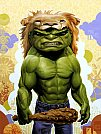 Modern Myth: Hulk x Hercules por Tim Maclean