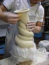 Arte em cerâmica - Vaso de Dragão