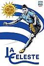 ESPN - Pôster da seleção do Uruguai vetorial por Cristiano Siqueira - Copa do Mundo Fifa - Brasil 2014