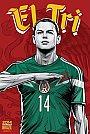 ESPN - Pôster da seleção do México vetorial por Cristiano Siqueira - Copa do Mundo Fifa - Brasil 2014