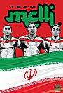 ESPN - Pôster da seleção do Irã vetorial por Cristiano Siqueira - Copa do Mundo Fifa - Brasil 2014
