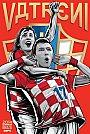 ESPN - Pôster da seleção da Croácia vetorial por Cristiano Siqueira - Copa do Mundo Fifa - Brasil 2014