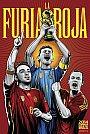 ESPN - Pôster da seleção da Espanha vetorial por Cristiano Siqueira - Copa do Mundo Fifa - Brasil 2014
