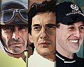 Ilustrações da Fórmula 1 com Ayrton Senna e outros ídolos por Piotr Buczkowski