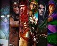 Ilustrações realistas dos personagens de Caverna do Dragão