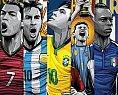 Pôsteres em vetor das seleções da Copa do Mundo Fifa - Brasil 2014