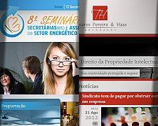 Entregues novos trabalhos para Desenvolvimento de Sites em Blumenau e Ribeirão Preto