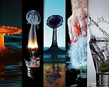 Fotos espetaculares em alta velocidade