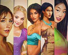 Ilustrações de personagens da Disney por Jirka Väätäinen