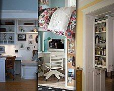 Soluções criativas para ganhar espaço com móveis esbanjando design.
