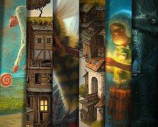 Utopia em ilustrações por Gediminas Pranckevicius