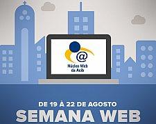 Vem aí a Semana Web em Blumenau, promovida pelo Núcleo de Web da Acib