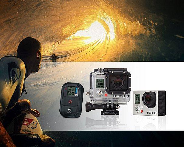 GoPro hero3 Black Edition promete capturar vídeos em incríveis 4k de resolução