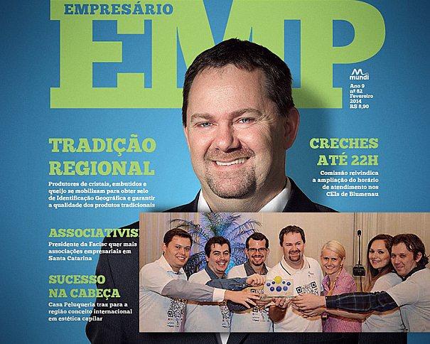 A ZeroArts e demais associados do Núcleo Web da Acib foram destaque em matéria de capa da Revista Empresário