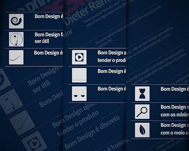 Dez princípios do bom Design por Dieter Rams