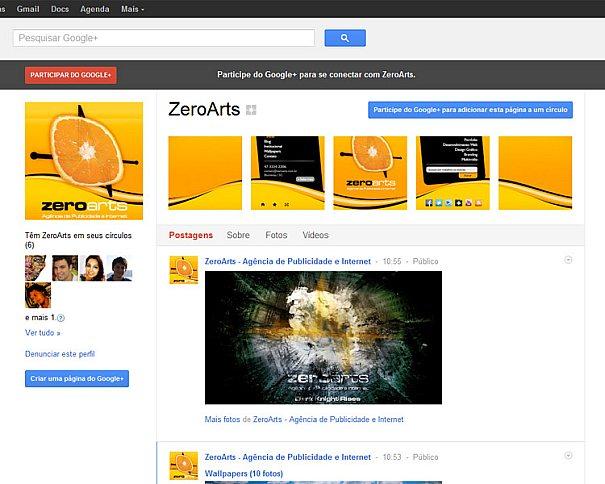 Como personalizar sua página empresarial no Google+