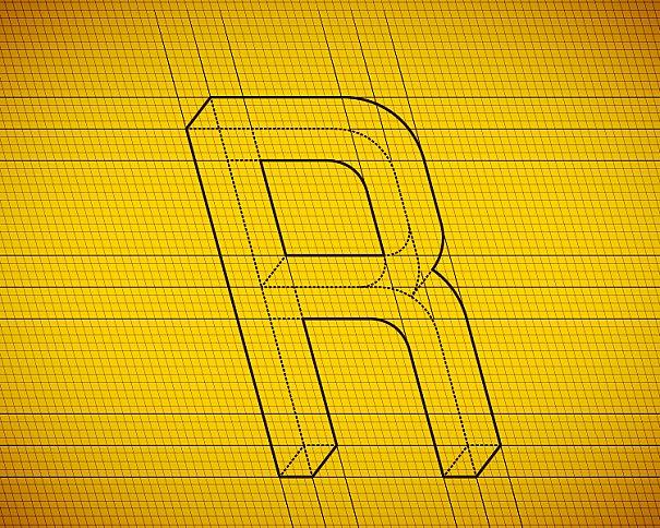 Fonte chamada Frustro, criada pelo designer Martzi Hegedus